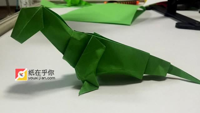 手工折纸 第68课:恐龙