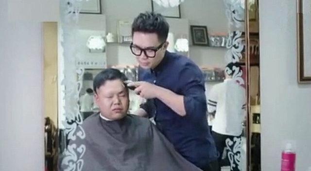 大鹏当理发师剪头发,差点没被人打死!