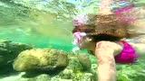 美少女在Palaui岛,菲律宾卡加延圣安娜