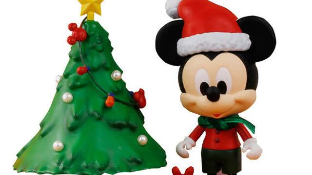 迪士尼米奇小猪佩奇迷你圣诞树亲子启蒙