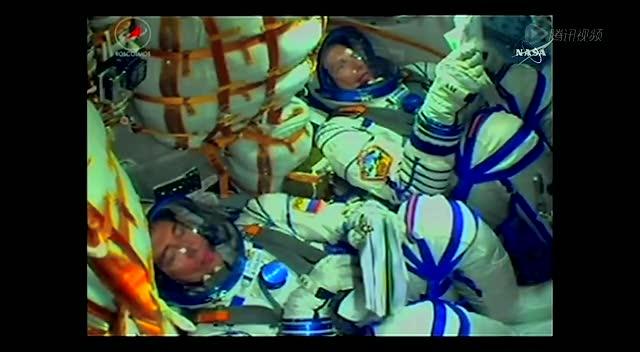 9月2日 搭载俄哈丹三国宇航员的联盟TMA-18M发射成功截图