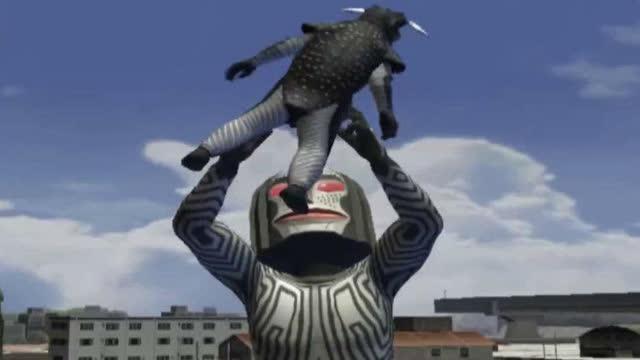 天羽奥特曼格斗进化3之宇宙大怪兽贝蒙斯坦