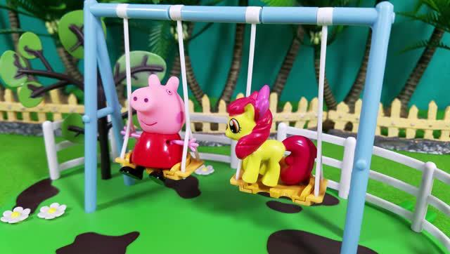 小猪佩奇的冰箱贴 超轻粘土教程手工玩具