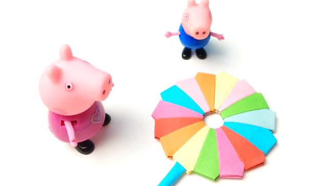 花儿朵朵童趣屋小猪佩奇亲子橡皮泥手工diy制作小黄人
