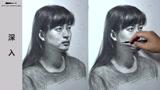 第一〇一集 朱传奇女青年素描头像示范完全版 (91播放)