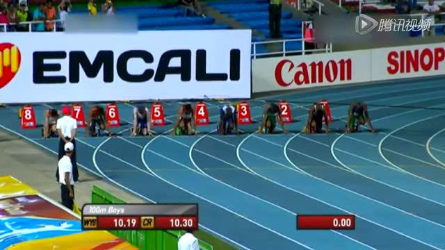日本16岁小将百米10秒28 世少赛夺冠被赞日本博尔特截图