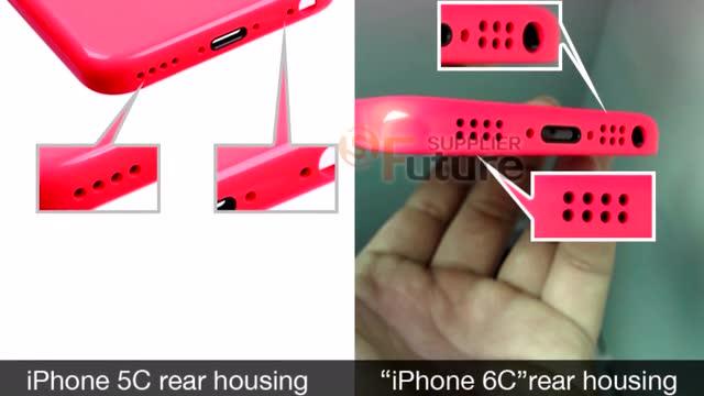 传苹果将推出iPhone 6c 谍照曝光截图