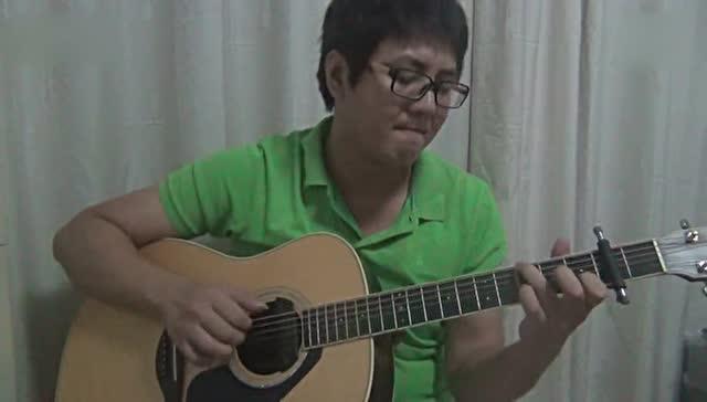 郭静《心墙》吉他指弹