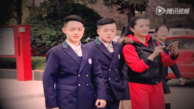 为梦想歌唱——广元外国语学校新式校服宣传片图片