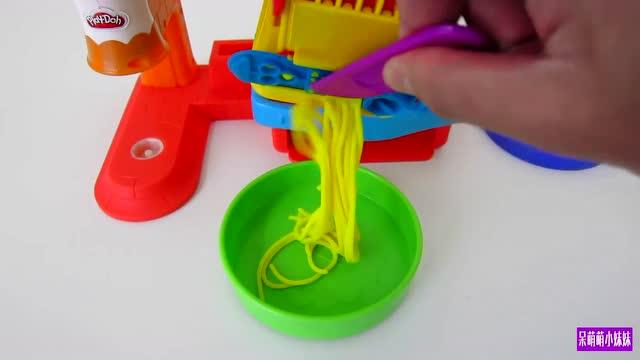 儿童橡皮泥视频 橡皮泥手工制作
