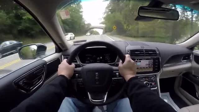 豪华驾驶质感 主视角试驾全新林肯大陆