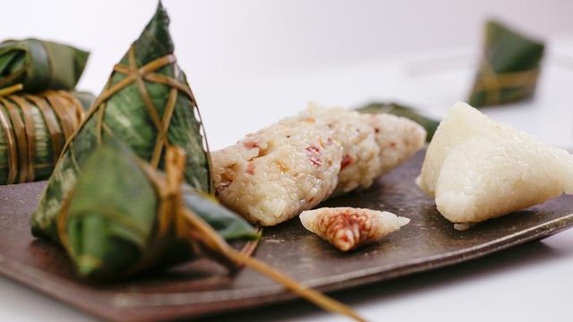美食台:4种方法包粽子