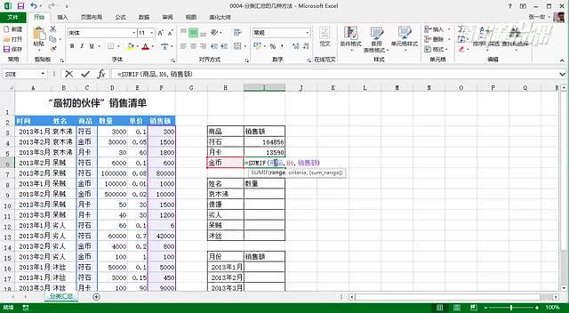 Excel的一千零一夜【数据透视表篇】