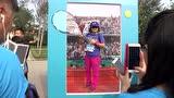 视频:腾讯体育冠军荣耀跑 现场游戏互动花样多