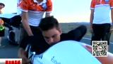 荷兰小伙人力车骑出133公里时速