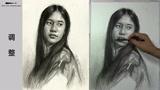 第九十四集 朱传奇女青年素描头像示范完全版 (85播放)