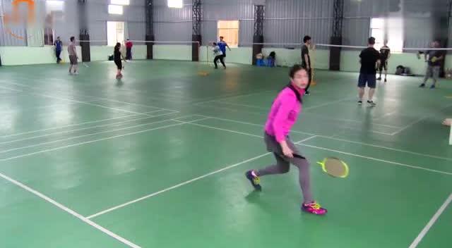 羽毛球教学步伐杜杜全场教你教练小学米字步v教学手视频a教学抄报伴我行图片