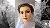 婚纱店主疑用女儿尸体做模特 75年面貌丝毫不变