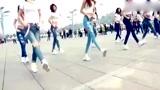 seve 洋溢着青春的舞步,青春少女青春起舞,太美了