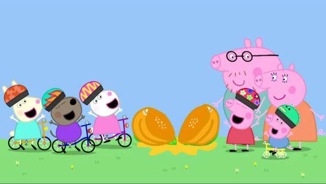 动画片小猪佩奇里圣诞节佩佩唱的是什么歌图片