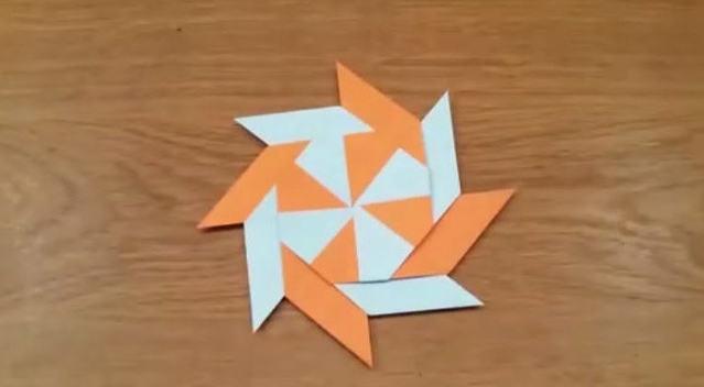 十字镖怎么折图解