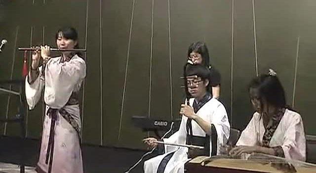 《笑傲江湖》琴箫合奏 能合奏这首曲的人有吗?图片