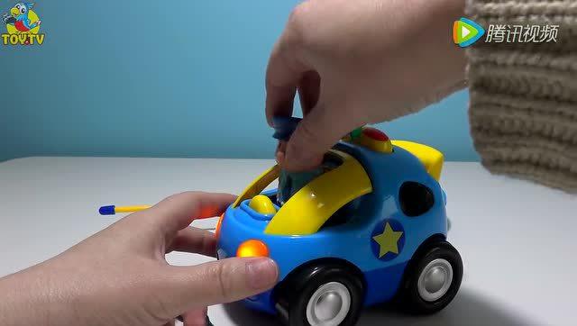 超轻粘土做汽车步骤