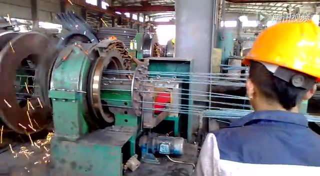 欧科变频器在滚焊机上的应用