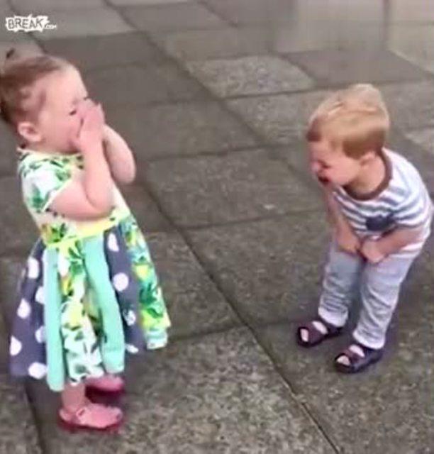 搞笑 可爱的萌宝要打针了,有没有萌到你