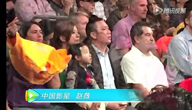 马云赵薇也来NBA抢镜!细数NBA场边的大牌明星截图