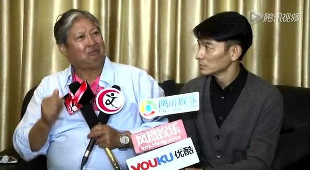专访刘德华:我想导喜剧 周星驰电影看过二十遍截图