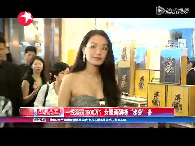 章子怡赵薇周迅被曝片酬1500万 孙俪仅250万截图