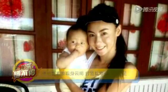 张柏芝素颜现身云南 打篮球专业范儿十足截图