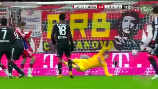 【集锦】拜仁1-0勒沃库森 里贝里攻入制胜球截图