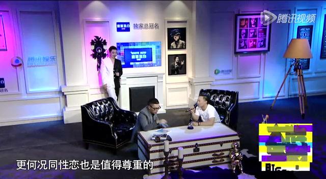 陈奕迅:我就是很好色 与何韵诗激吻有点过火