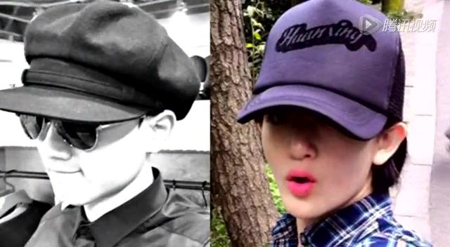 张杰戴帽子头像