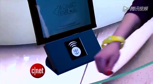 世界第一款智能游轮体验:手环可消费开房门