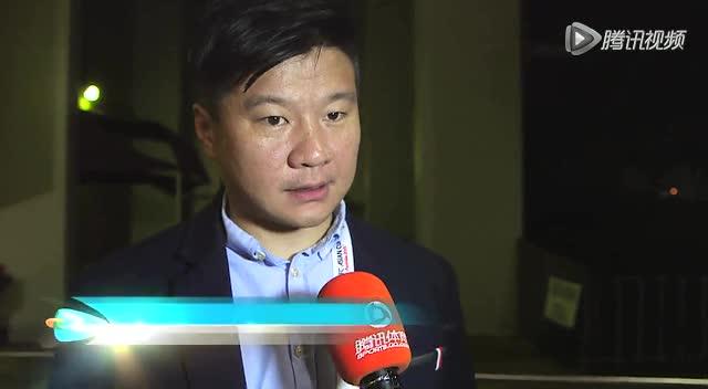 李金羽接受腾讯专访截图
