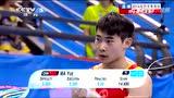 视频:青奥会男子跳马 中国选手马跃收获一银