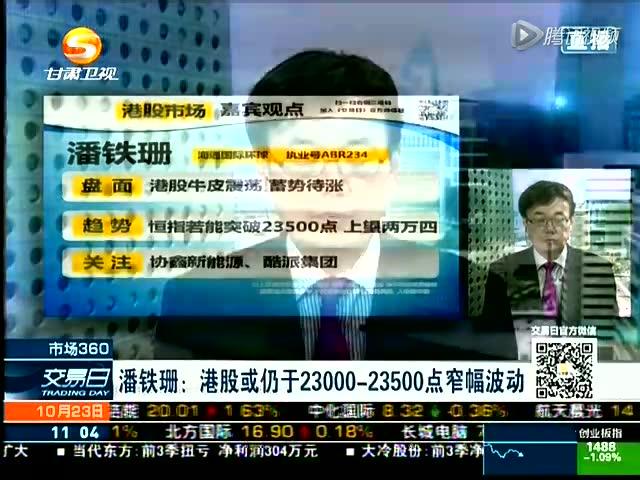 潘铁珊:料港股波动 看好政策受惠股截图