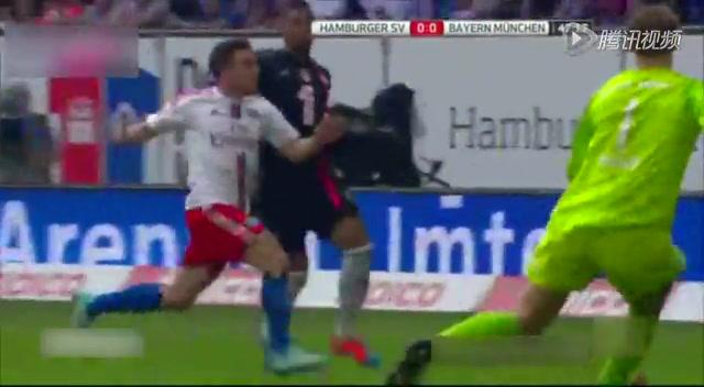 【集锦】汉堡0-0拜仁慕尼黑 全场几无破门良机截图