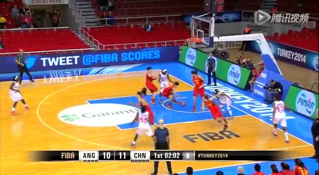 【集锦】女篮世锦赛小组赛 安哥拉39-65中国截图