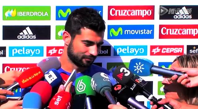 新一期西班牙队集结训练 拉莫斯领衔众将接受采访截图