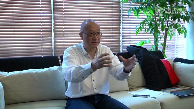 腾讯房产独家专访冯仑:我只是在炕上换了个姿势截图