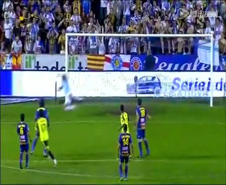 【集锦】莱万特1-2萨拉戈萨 加比任意球直接破门助球队保级截图