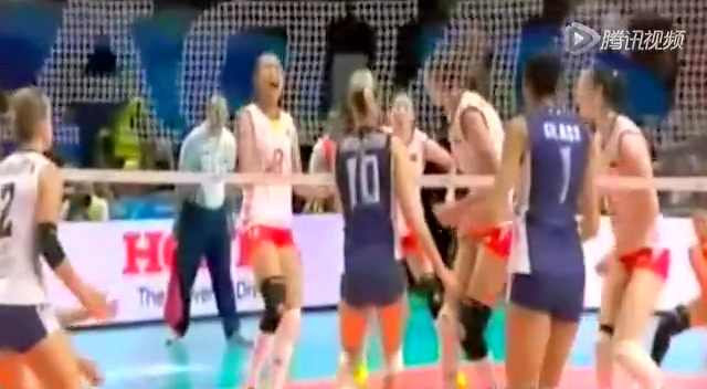 【集锦】女排世锦赛中国1-3 16年后又夺亚军截图