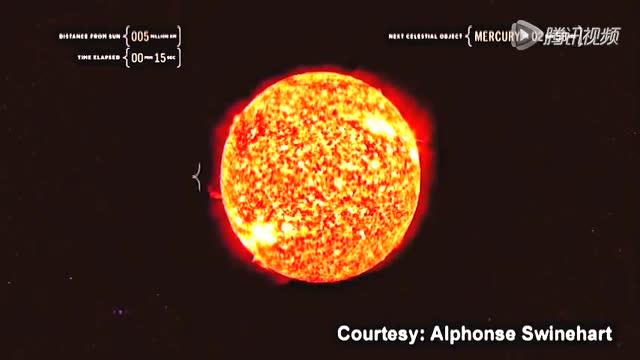 跟随光线完成一次从太阳到木星的旅行截图