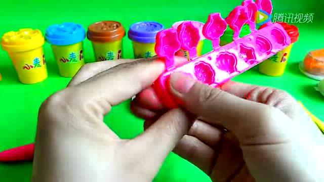 橡皮泥手工制作 芭比娃娃 小猪佩奇 超级飞侠