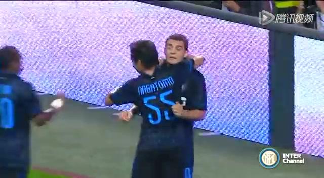 【集锦】国米6-0大胜晋级 90后小将帽子戏法截图