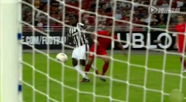 尤文5-0轻取新加坡 皮尔洛梅开二度截图